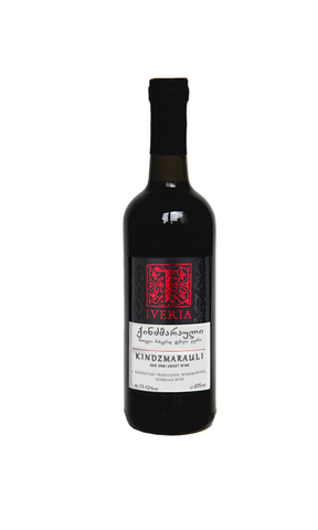 KTW Iveria Kindzmarauli - Semi-Sweet Red Wine (375ml)