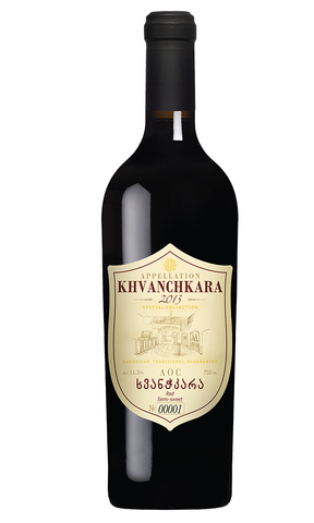 KTW Premium Khvanchkara - Semi-Sweet Red Wine
