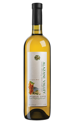 KTW Alazani Valley - Semi-Sweet White Wine - Eurasia Trading