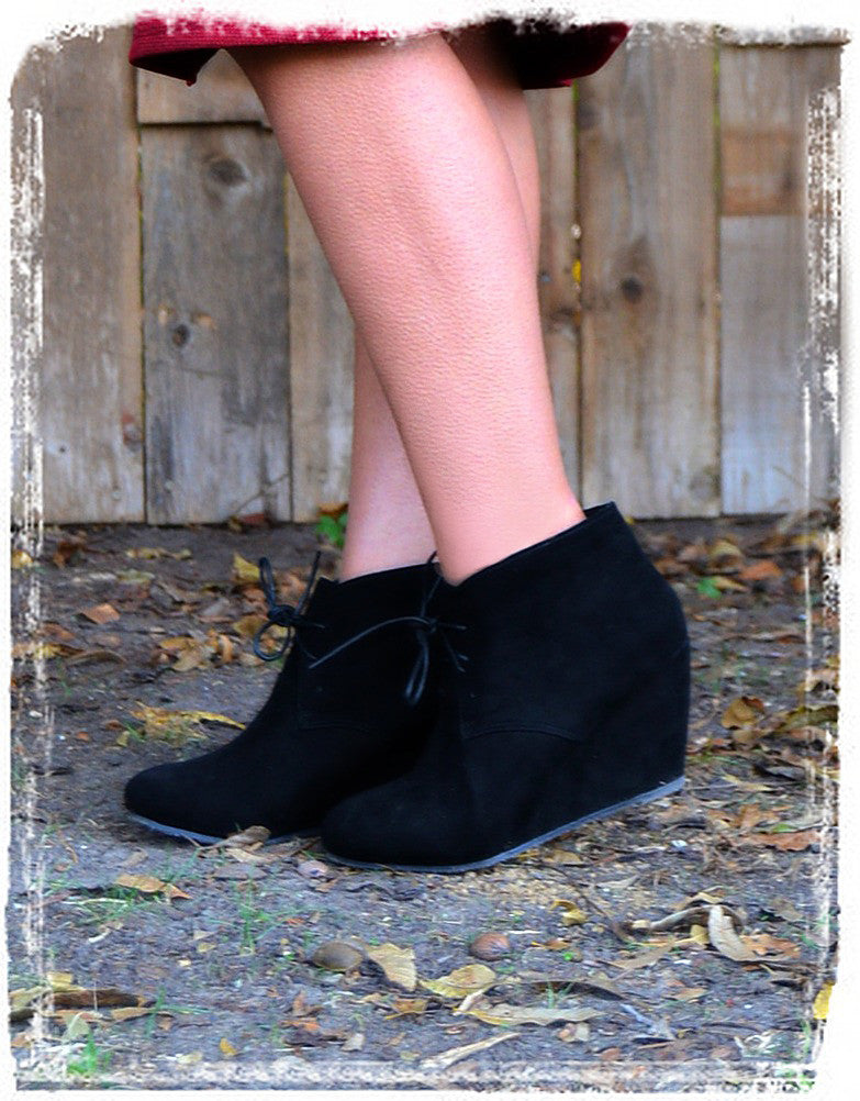 Booties Of Style-Black