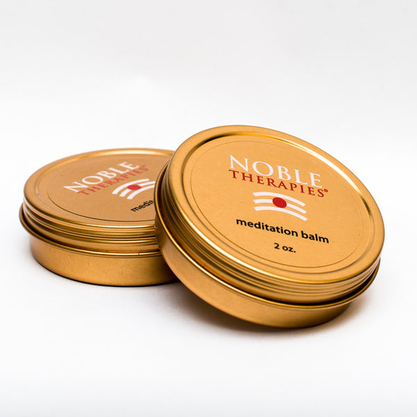 Noble Therapies Meditation and Yoga Balm