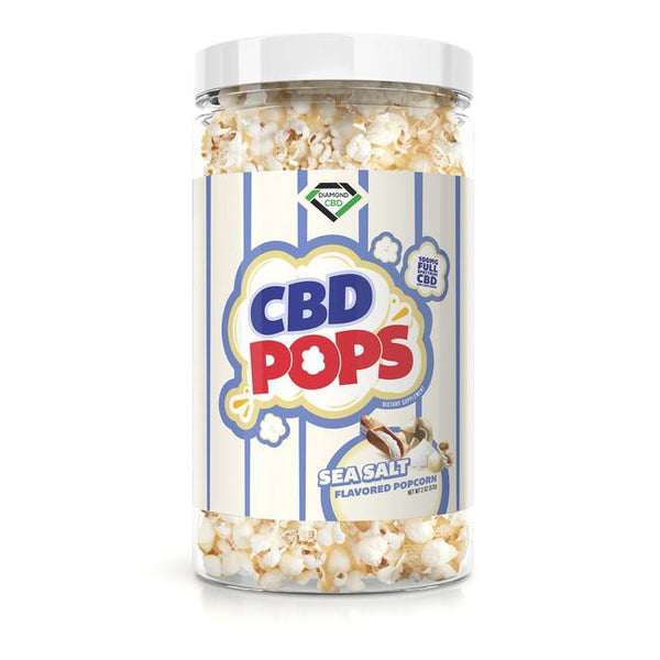 DIAMOND CBD INFUSED FULL SPECTRUM POPCORN SKINNY - 100MG