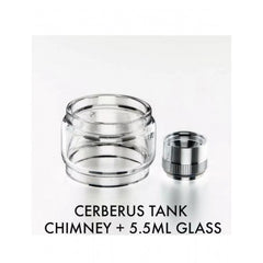 GEEK VAPE CERBERUS TANK EXTENDER WITH BULB GLASS 5.5ML