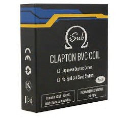 INNOKIN ISUB G CLAPTON REPLACEMENT COILS 0.5OHM