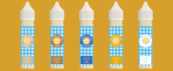 MOTHERS CUSTARD 60ML BOTTLE WITH 50ML CONTENT 0MG
