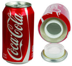 SOFT DRINK SAFE CAN COKE
