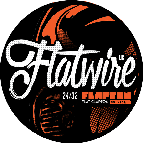 FLATWIRE UK STAINLESS STEEL FLAPTON WIRE 24/32