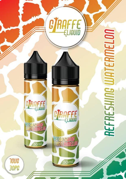 GIRAFFE REFRESHING WATERMELON 50ML 0MG SHORTFILL