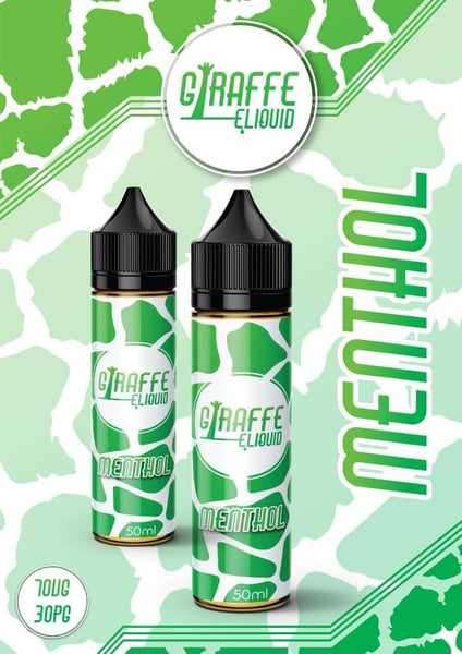 GIRAFFE MENTHOL 50ML 0MG SHORTFILL