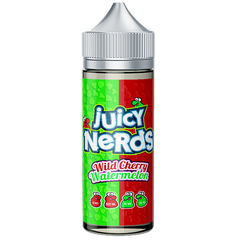 JUICY NERDS WILD CHERRY & WATERMELON 120ML SHORTFILL 0MG