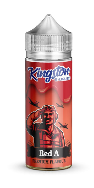 KINGSTON ZINGBERRY RED A 120ML SHORTFILL 0MG