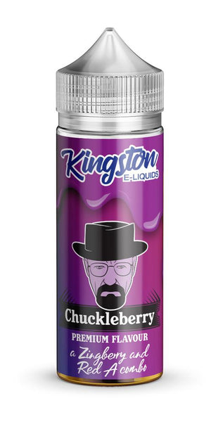 KINGSTON ZINGBERRY CHUCKLEBERRY 120ML SHORTFILL 0MG