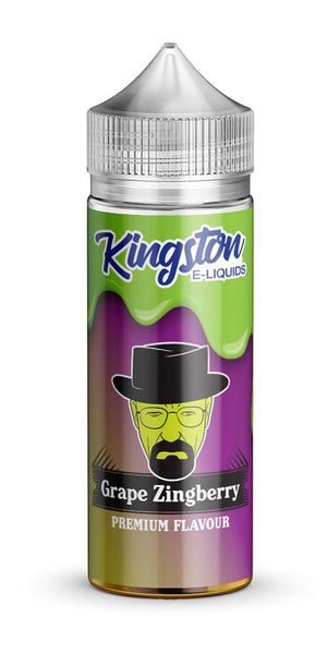 KINGSTON ZINGBERRY GRAPE 120ML SHORTFILL 0MG