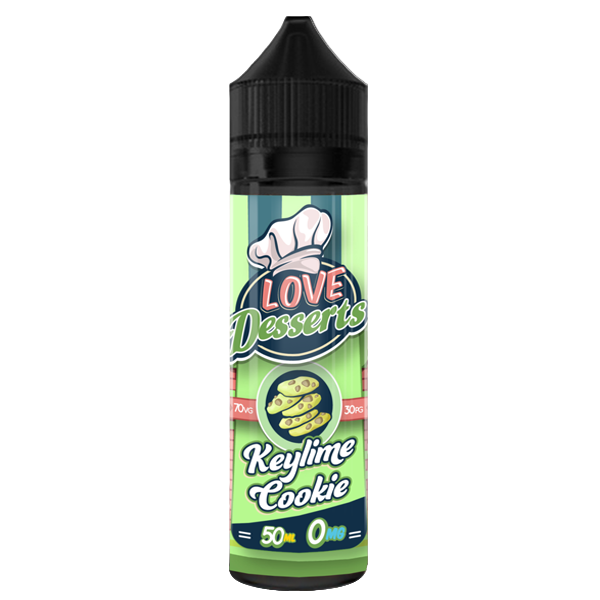 LOVE DESSERTS - KEYLIME COOKIE 0MG 50ML