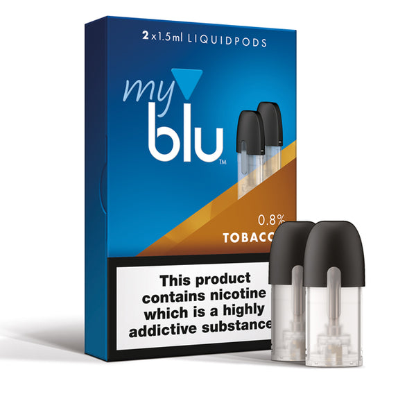 MY BLU TOBACCO 18% LIQUID PODS