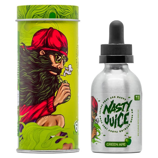 NASTY JUICE GREEN APE 50ML SHORTFILL