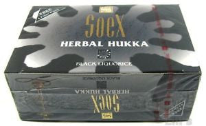 SOEX MOLASSES BLACK LIQUORICE 50G