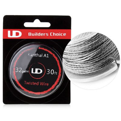 YOUDE KANTHAL A1 RESISTANCE WIRE 32G TWISTED WIRE