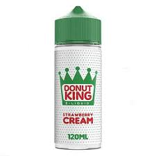 DONUT KING STRAWBERRY CREAM DONUT 100ML SHORTFILL 0MG