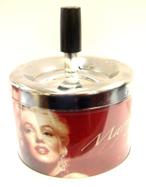MARILYN MONROE PUSHDOWN ASHTRAY
