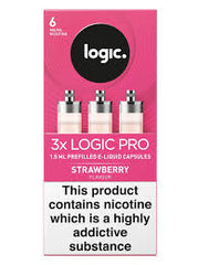 LOGIC PRO REFILL CAPSULES STRAWBERRY