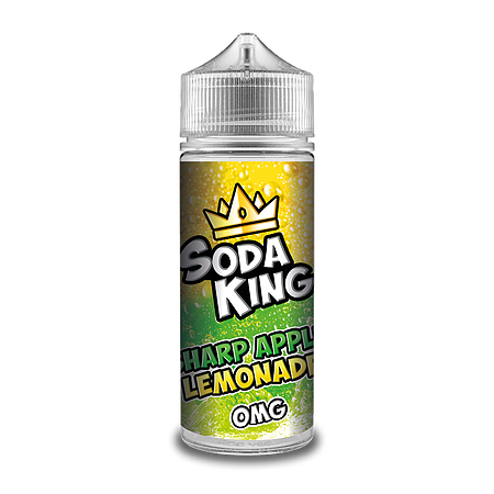 SODA KING SHARP APPLE LEMONADE 100ML
