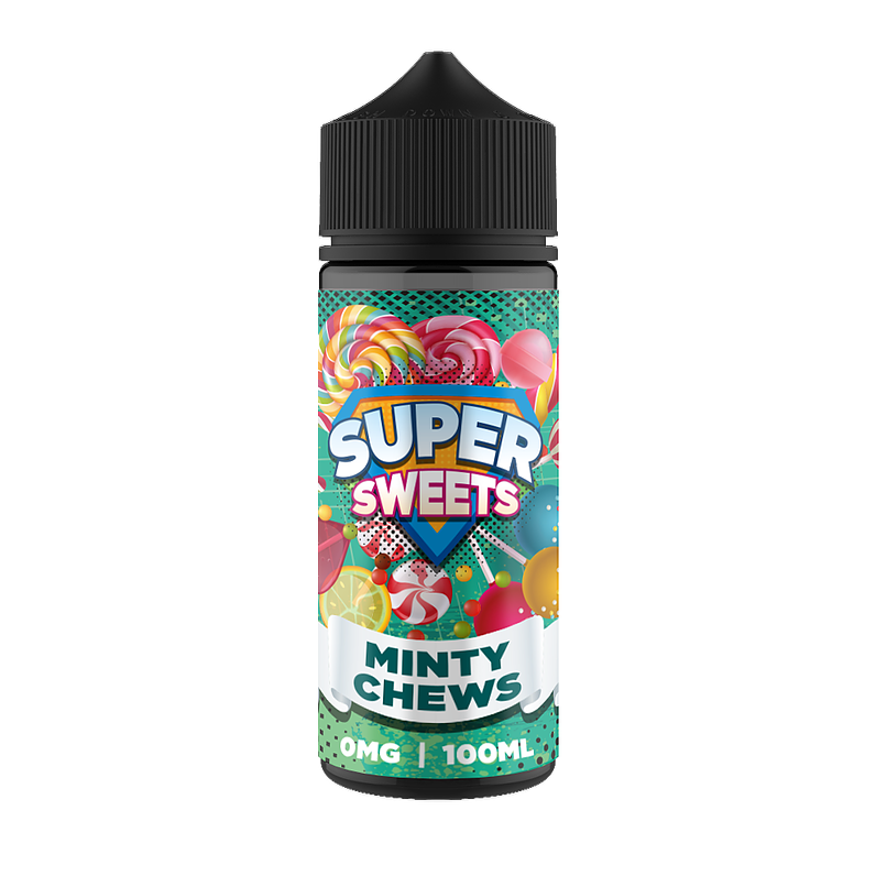 SUPER SWEETS MINTY CHEWS 100ML 0MG
