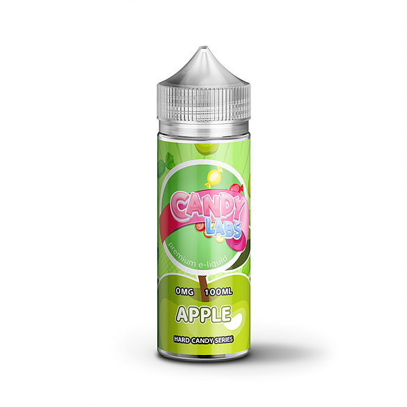 CANDY LABS APPLE 100ML 0MG