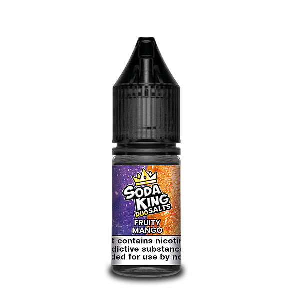 SODA KING DUO NIC SALTS FRUITY MANGO 10ML 20MG