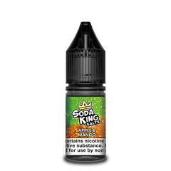 SODA KING NIC SALTS APPLE & MANGO SODA 10ML 20MG