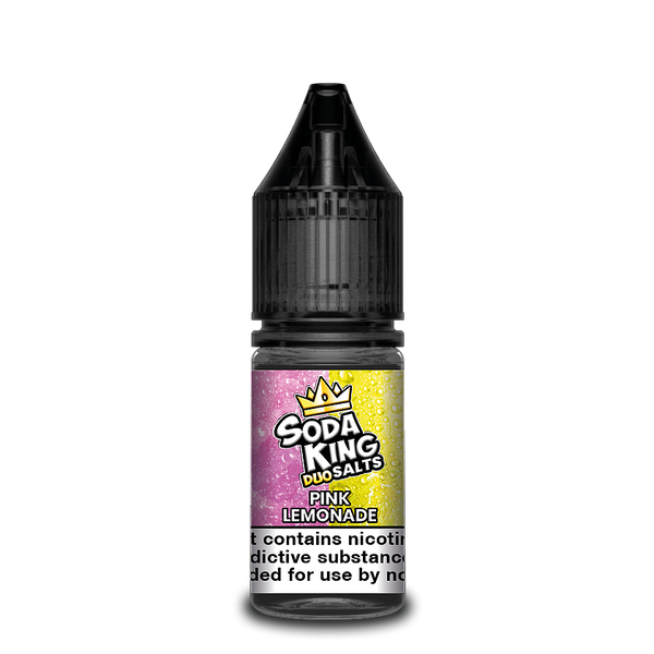 SODA KING DUO NIC SALTS PINK LEMONADE 10ML 20MG