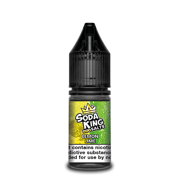 SODA KING DUO NIC SALTS LEMON LIME 10ML 20MG