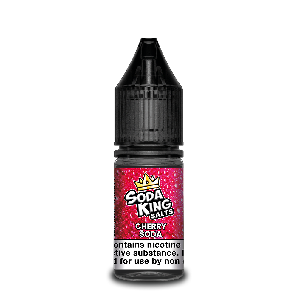 SODA KING NIC SALTS CHERRY SODA 10ML 20MG