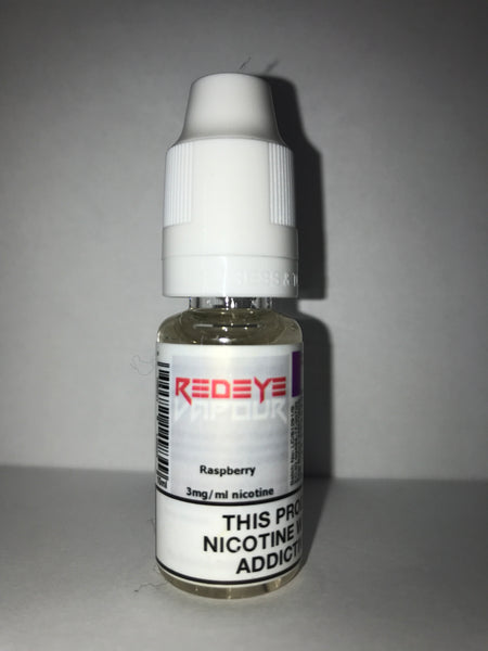RASPBERRY 50/50 E-LIQUID 10ML BY REDEYE VAPOUR