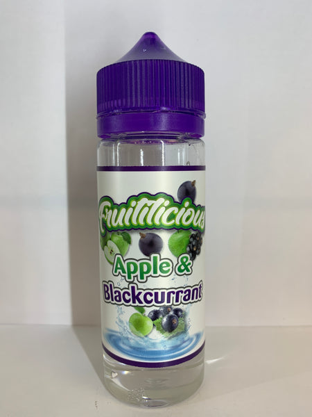 FRUITILICIOUS APPLE & BLACKCURRANT 100ML SHORTFILL