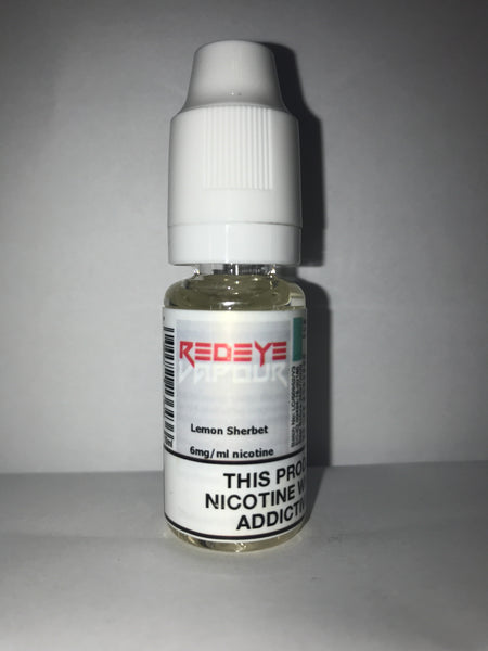LEMON SHERBET 50/50 E-LIQUID 10ML BY REDEYE VAPOUR
