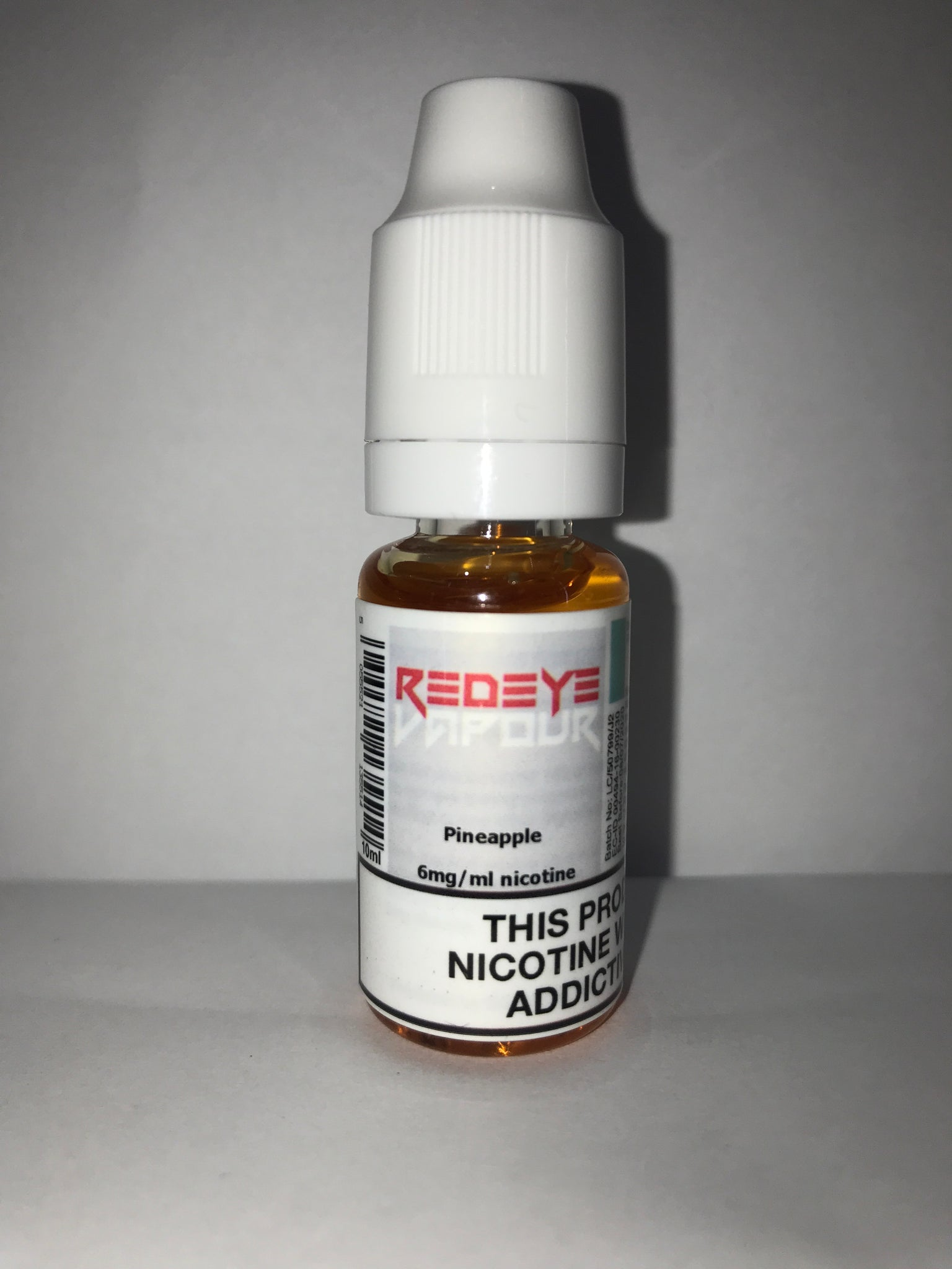 PINEAPPLE 50/50 E-LIQUID 10ML BY REDEYE VAPOUR