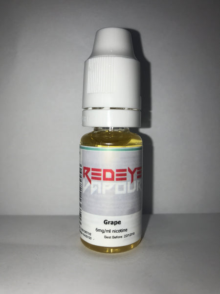 GRAPE 50/50 E-LIQUID 10ML BY REDEYE VAPOUR
