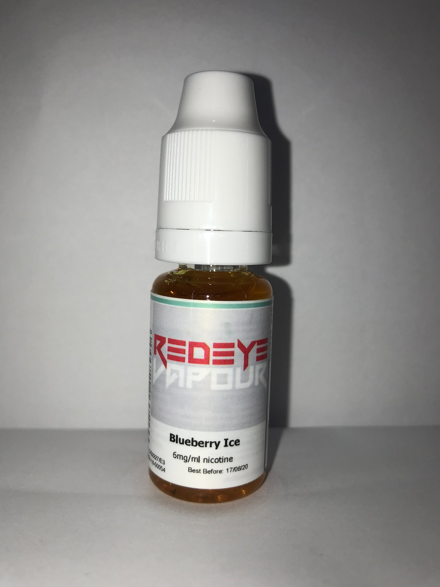 BLUEBERRY ICE 50/50 E-LIQUID 10ML BY REDEYE VAPOUR