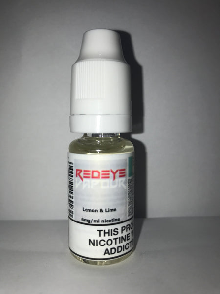 LEMON & LIME 50/50 E-LIQUID 10ML BY REDEYE VAPOUR