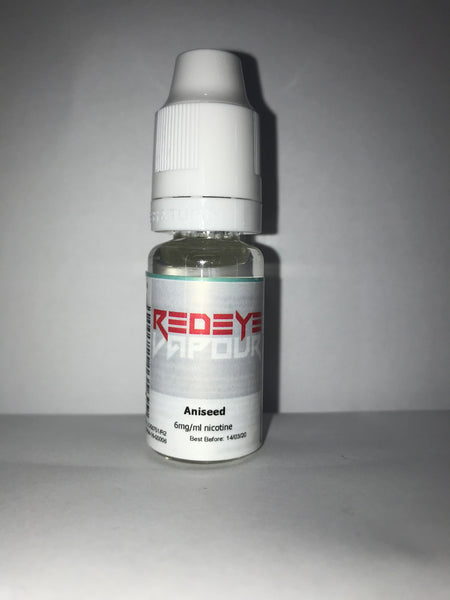 ANISEED 50/50 E-LIQUID 10ML BY REDEYE VAPOUR
