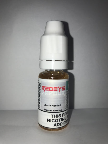 CHERRY MENTHOL 50/50 E-LIQUID 10ML BY REDEYE VAPOUR