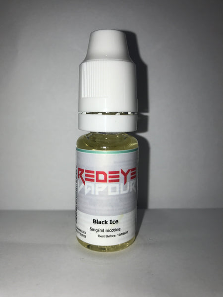 BLACK ICE 50/50 E-LIQUID 10ML BY REDEYE VAPOUR