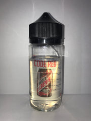 REDEYE VAPOUR ELIQUID CODE RED 80ML 0MG 80/20