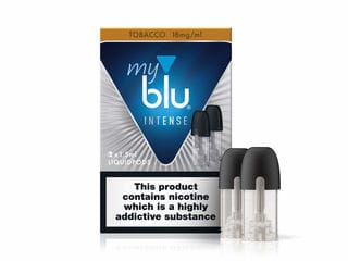 MY BLU INTENSE TOBACCO 18% LIQUID POD
