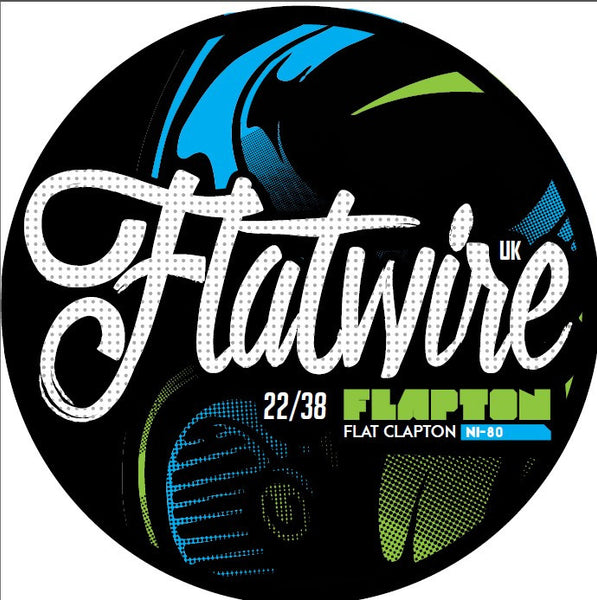 FLATWIRE UK - NICHROME FLAPTON COIL WIRE 22/38