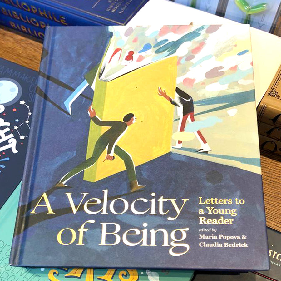 SIGNED A Velocity of Being: Letters to a Young Reader - The New York Public Library Shop