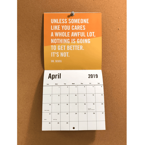 2019 Activist Quote Calendar - The New York Public Library Shop
