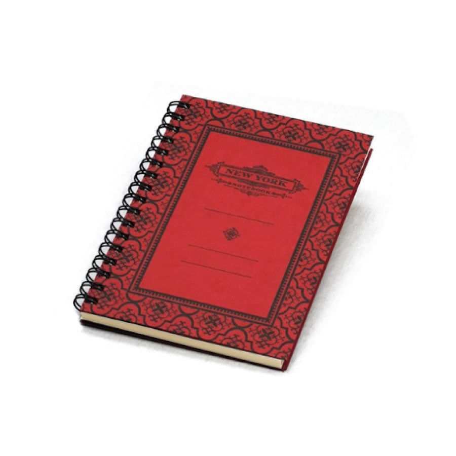 Spiral Bound New York Notebook: Red - The New York Public Library Shop