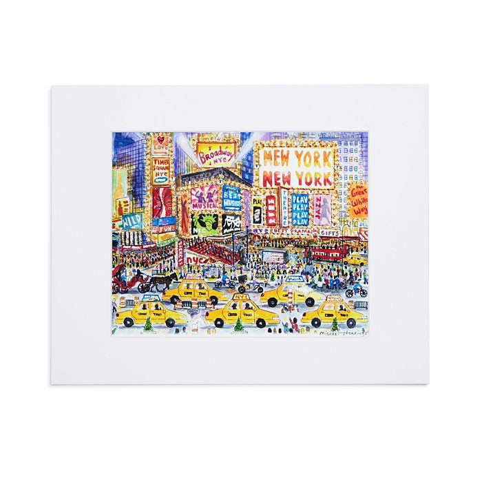 Michael Storrings' Great White Way Print - The New York Public Library Shop
